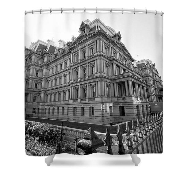 Old Executive Office Building Shower Curtain