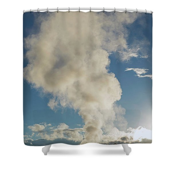 Old Faithfull Shower Curtain