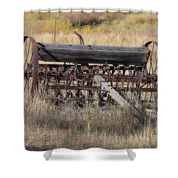 Farm Implament Westcliffe Co Shower Curtain