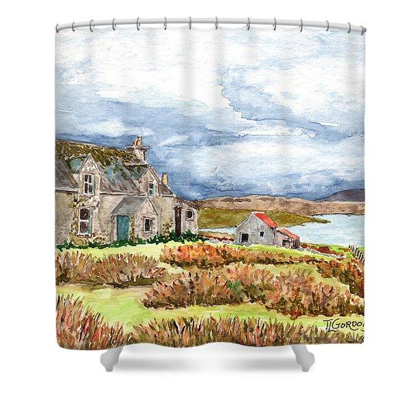 Old Farm Isle Of Lewis Scotland Shower Curtain