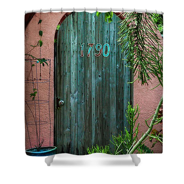 Old Florida 7 Shower Curtain