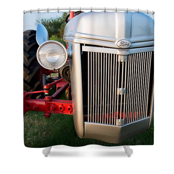 Ford Tractor 9n Tractor Front Shower Curtain