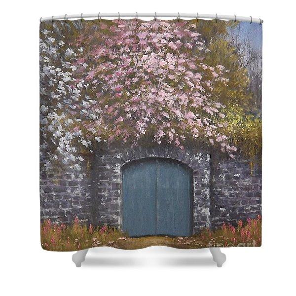Old Gateway Portarlington Shower Curtain