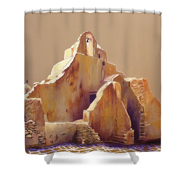 Old Greek Church Shower Curtain