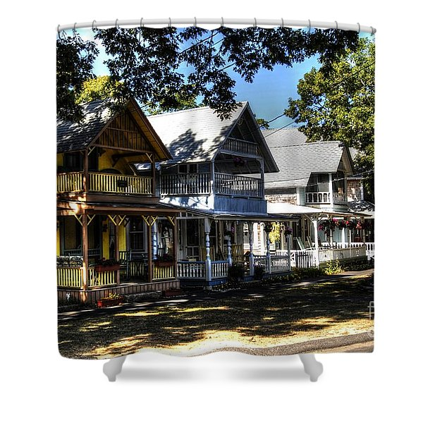 Old Homes Martha's Vineyard Shower Curtain