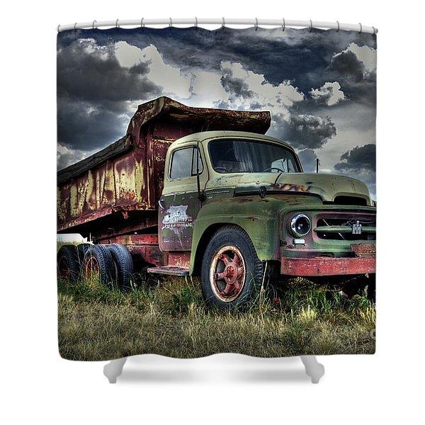 Old International #2 Shower Curtain