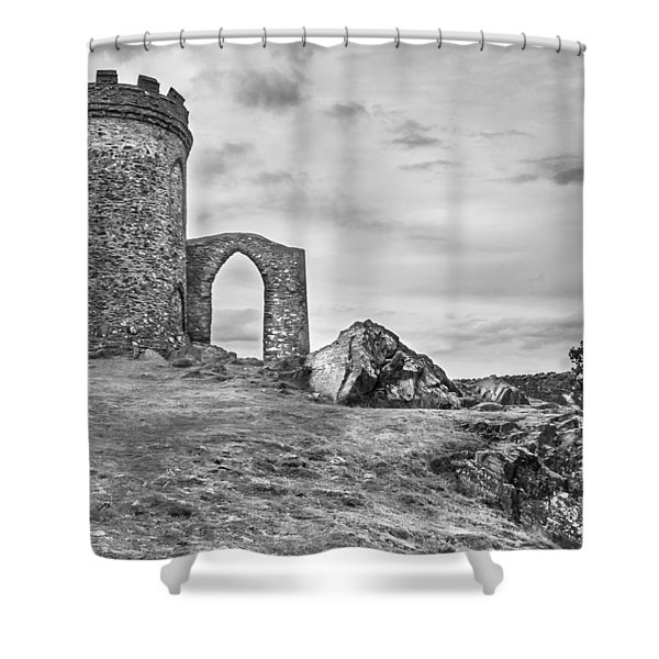 Shower Curtain featuring the photograph Old John Folly by Nick Bywater