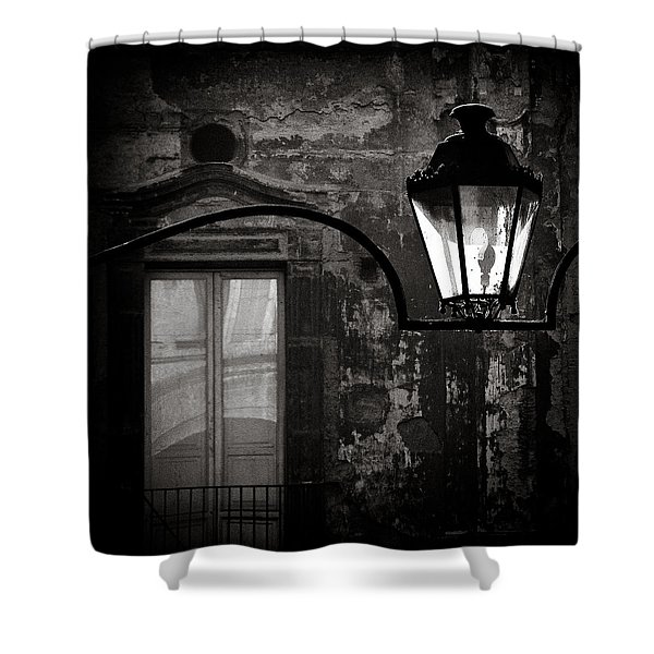 Old Lamp Shower Curtain