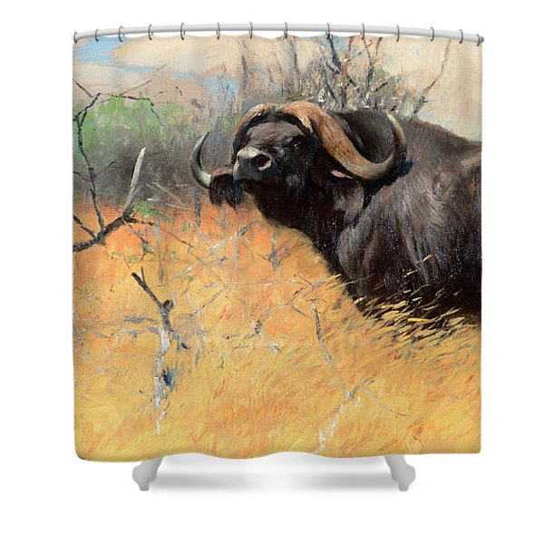 Old Loner Shower Curtain