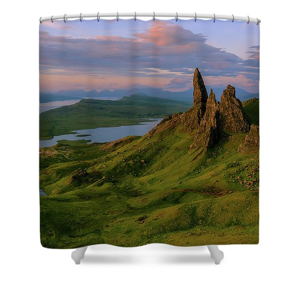 Old Man Of Storr Shower Curtain