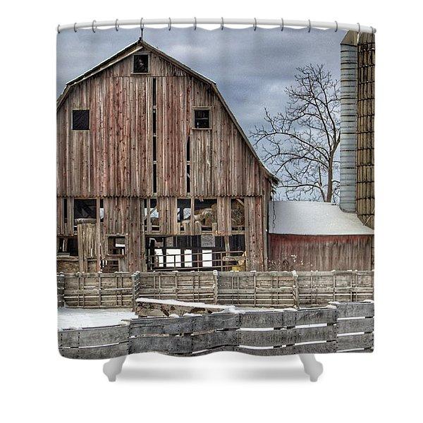 0032 - Old Marathon Shower Curtain