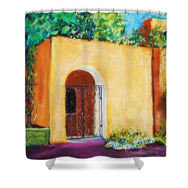 Old Mesilla Shower Curtain