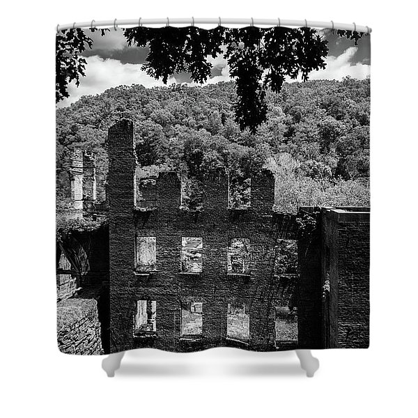 old Mill 3 Shower Curtain