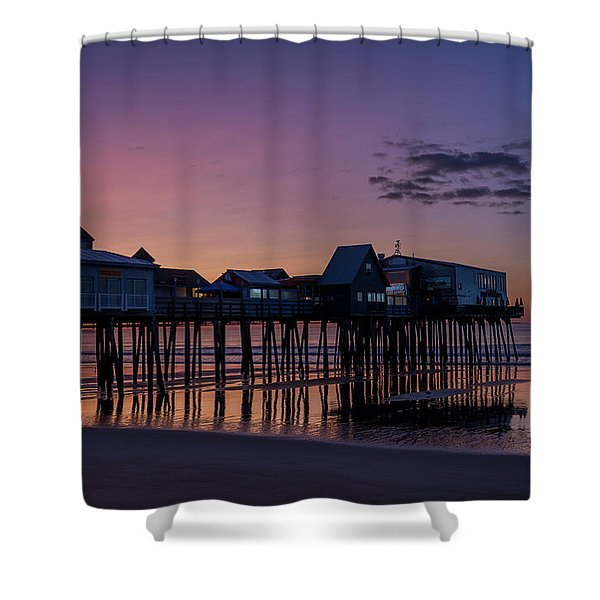 Old Orchard Beach  Shower Curtain