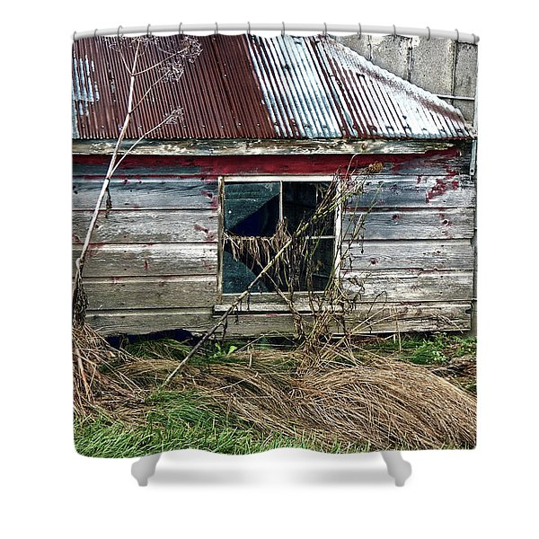 Old Pump House Shower Curtain