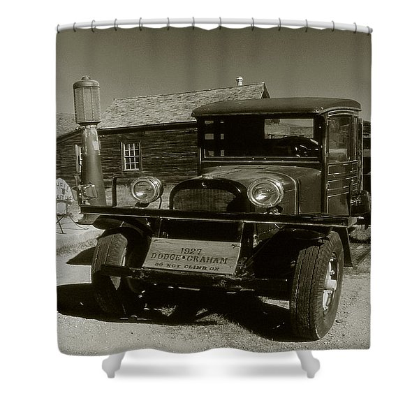 Old Pickup Truck 1927 - Vintage Photo Art Print Shower Curtain