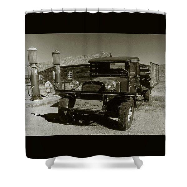 Old Pickup Truck 1927 - Vintage Photo Art Print Shower Curtain