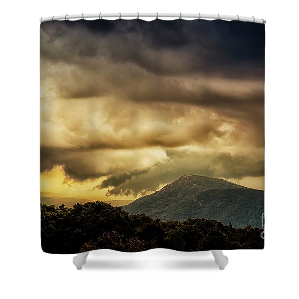 Old Rag View Overlook Shower Curtain