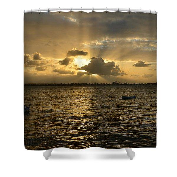 Old San Juan 3772 Shower Curtain