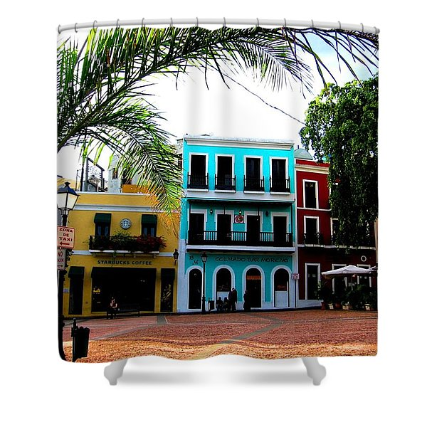 Old San Juan Pr Shower Curtain