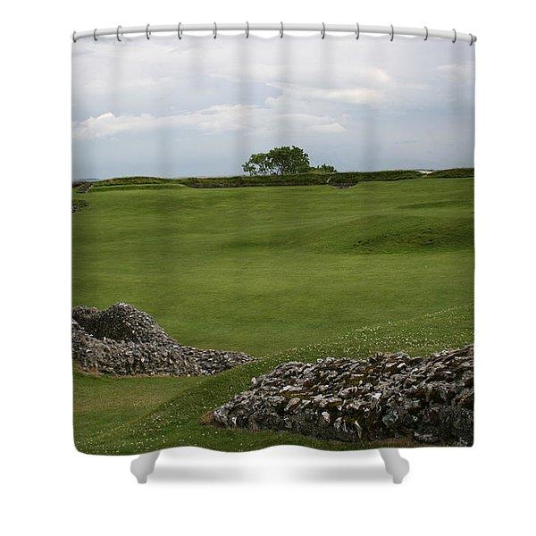 Old Sarum Shower Curtain