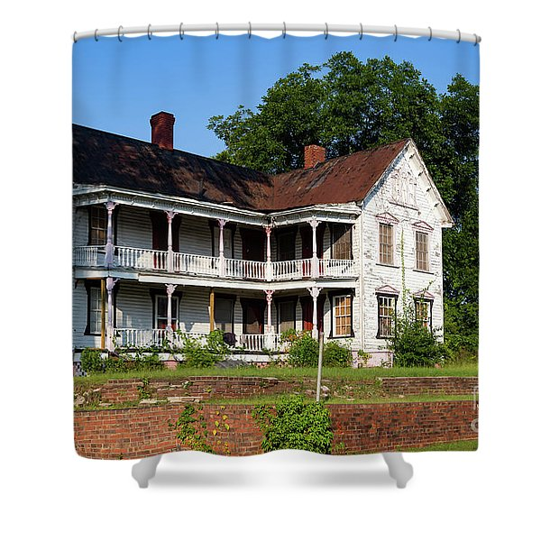 Old Shull Mansion Shower Curtain