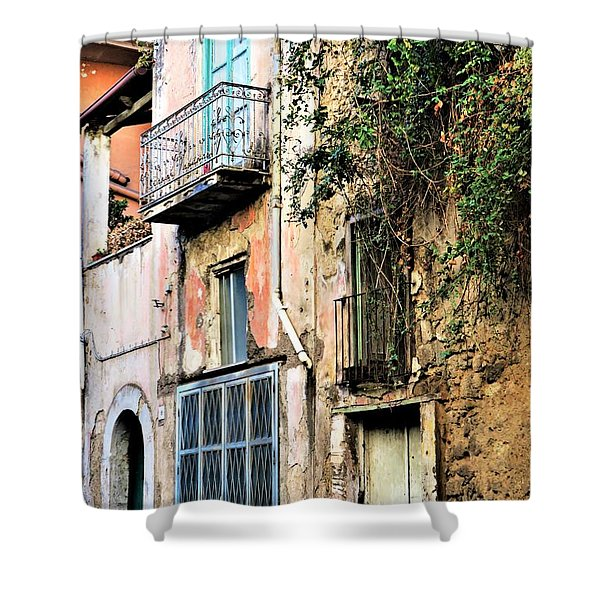 Old Sorrento Street Shower Curtain