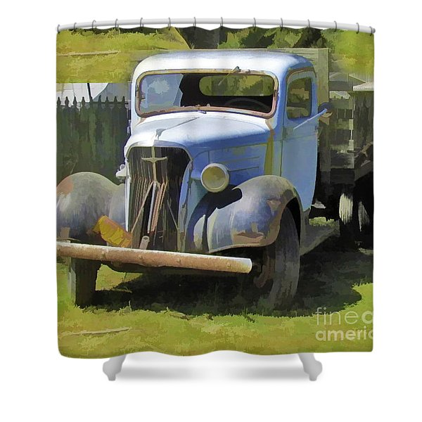 Old Soul #2 Shower Curtain