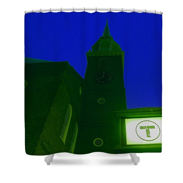 Old South Meeting House Shower Curtain