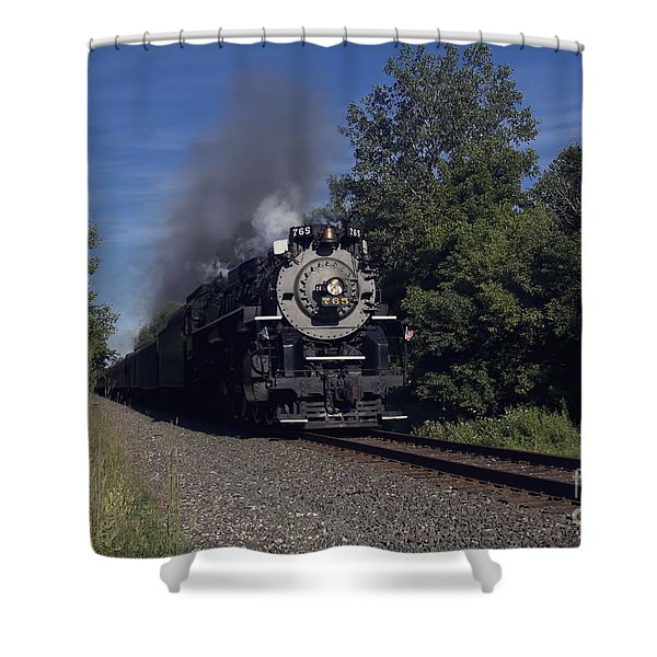 Old Steamer 765 Shower Curtain