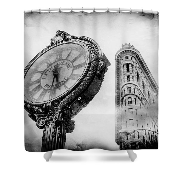Old Time's Sake Shower Curtain
