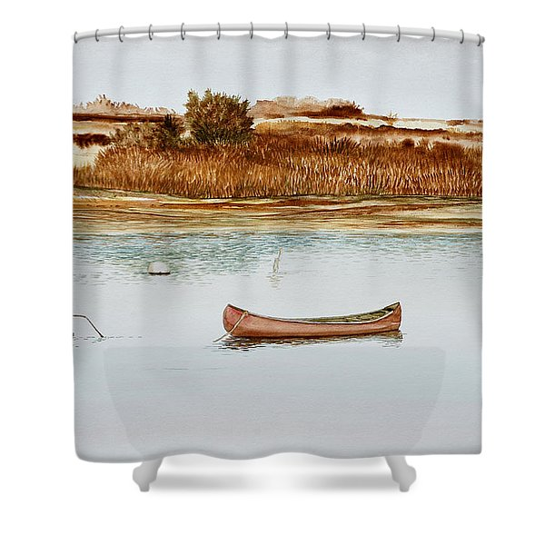Old Town Canoe Menemsha Mv Shower Curtain