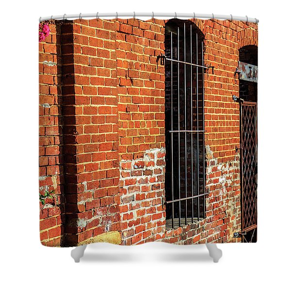 Old Town Jail Shower Curtain