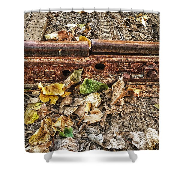 Old Tracks Shower Curtain