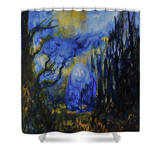 Old Ways Shower Curtain