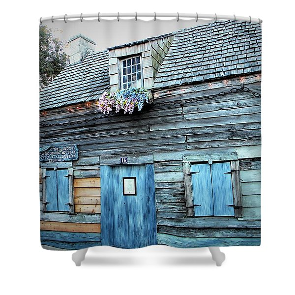 Oldest Wood School House Usa Shower Curtain