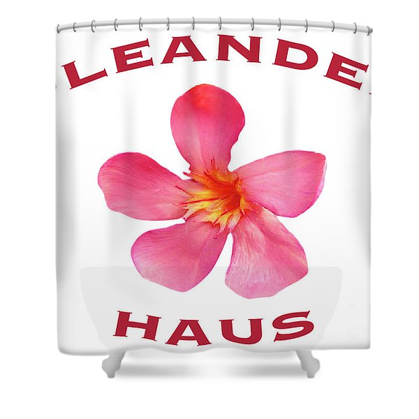 Oleander Haus Shower Curtain