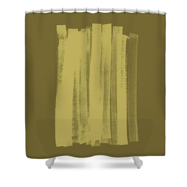 Olive On Olive 1 Shower Curtain