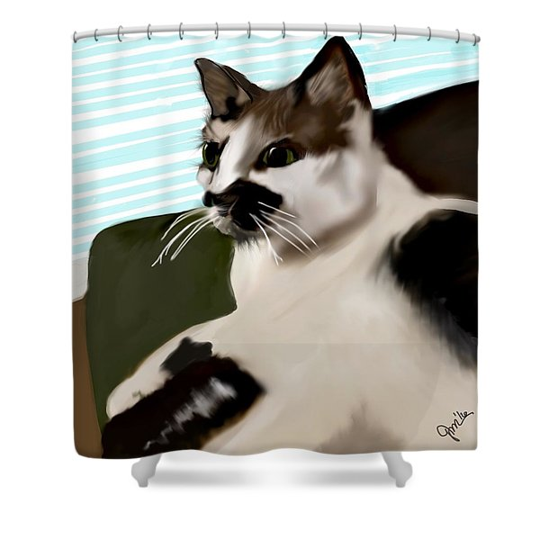 Oliver Shower Curtain