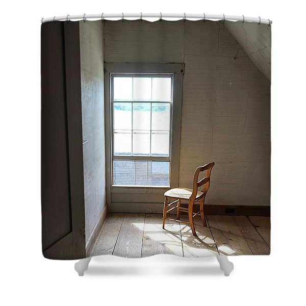 Olson House Chair And Window Shower Curtain