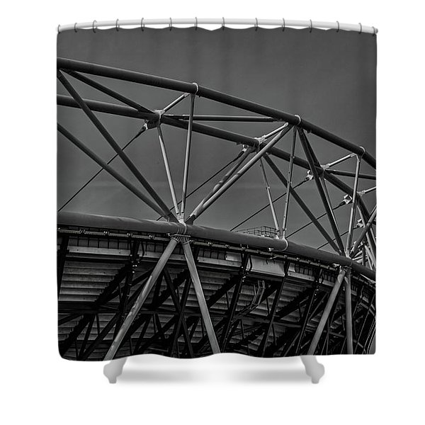 Olympic Stadium Shower Curtain