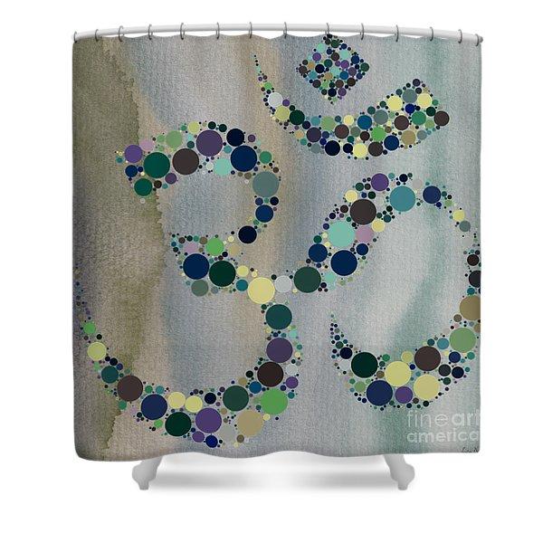 Om Symbol Shower Curtain