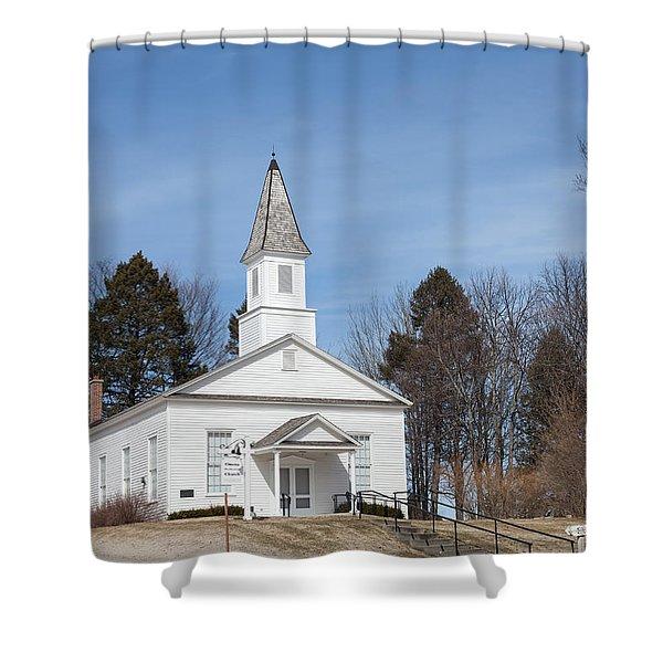 Omena Presbyterian Church Shower Curtain