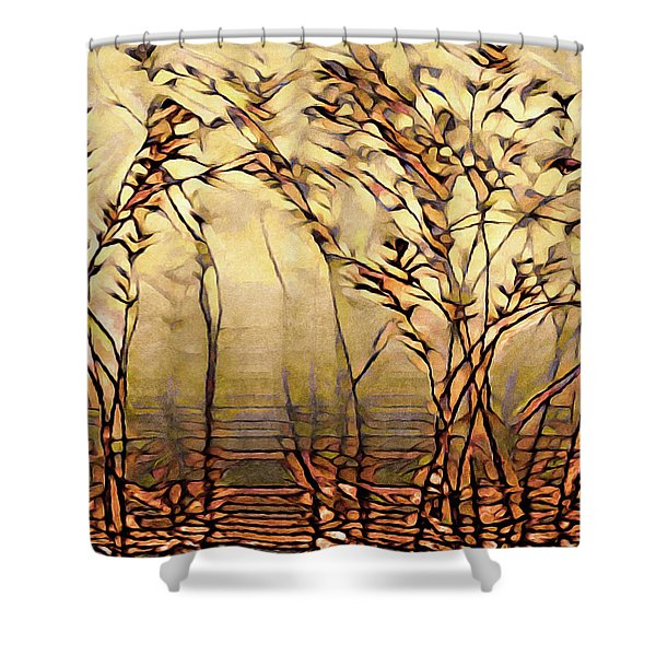 On An Untrodden Path Shower Curtain