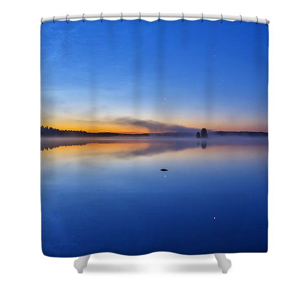On July Morning At 03.10 Shower Curtain