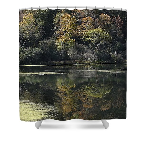 On Lethe's Bank Shower Curtain