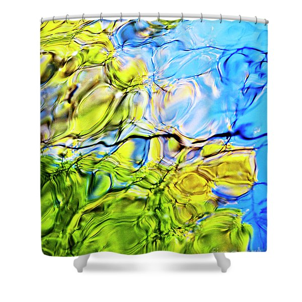 On Looking Up Shower Curtain