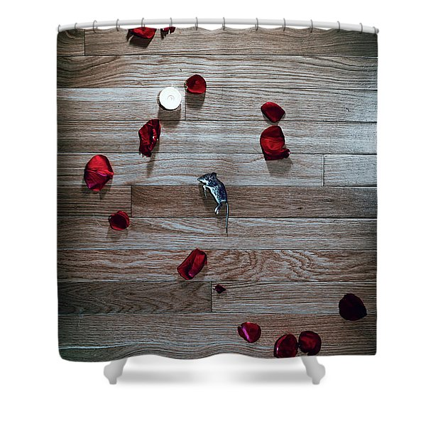 Shower Curtain featuring the photograph On Nature, Tragedy, And Beauty I by Break The Silhouette