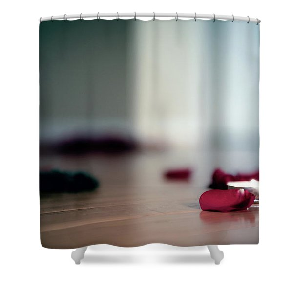 Shower Curtain featuring the photograph On Nature, Tragedy, And Beauty II by Break The Silhouette