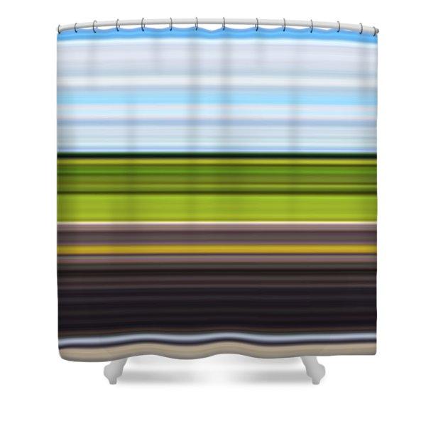 On Road IIi Shower Curtain